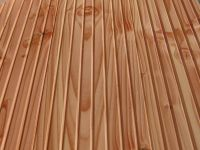Terrassenholz Douglasie A-Sortierung, 26 x 140 mm, geriffelt