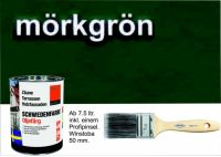 DUNKELGRÜN / Schwedenfarbe Öljefärg / Holzdeckfarbe