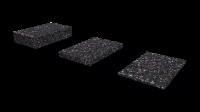 Granulatpads, 8 mm stark