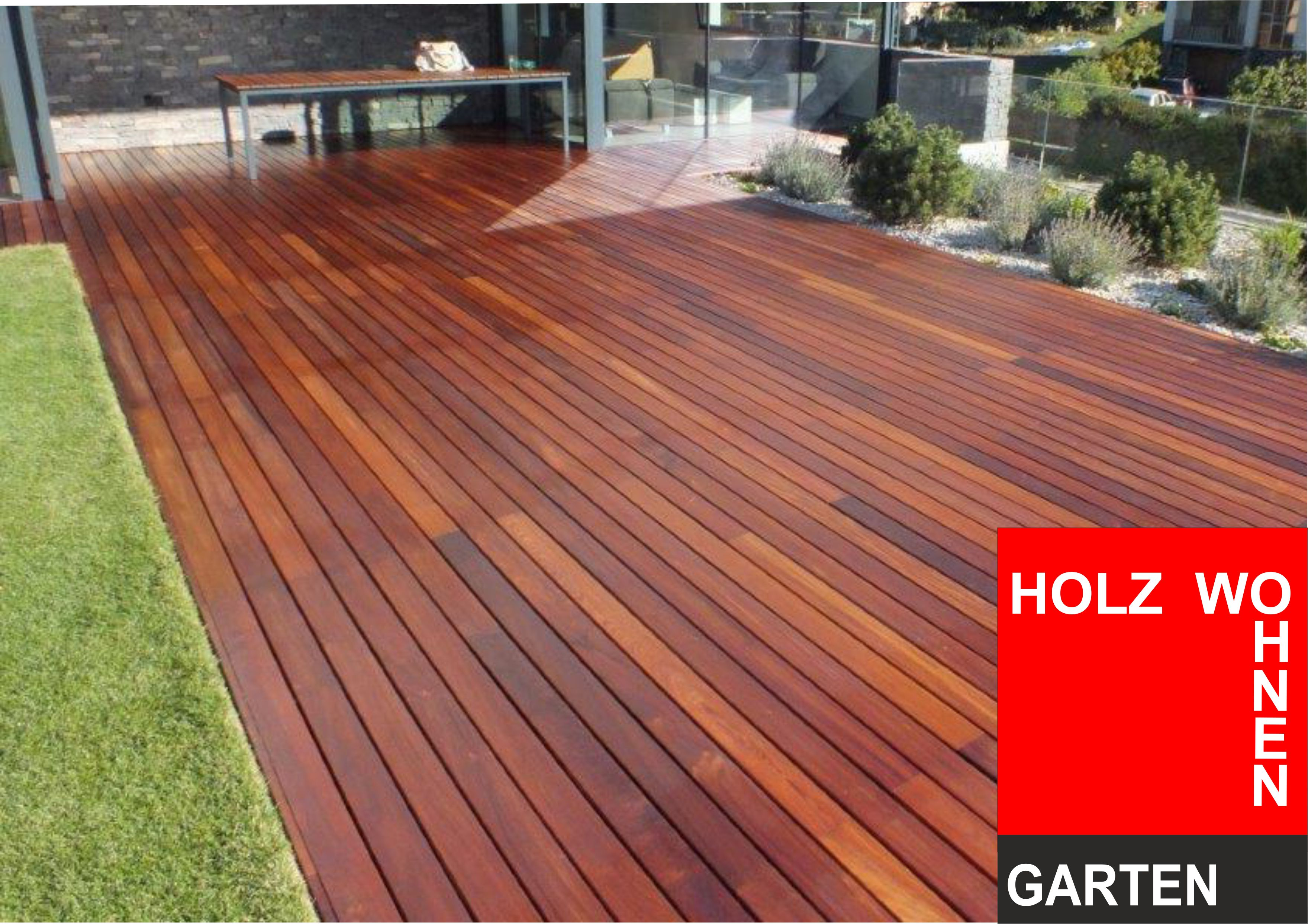 Mukulungu Afri Kulu Terrassendielen Holz Wohnen Garten De