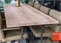 Eiche Tischplatte, Old-Style