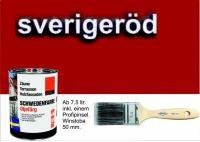 SCHWEDENROT / Schwedenfarbe Öljefärg / Holzdeckfarbe