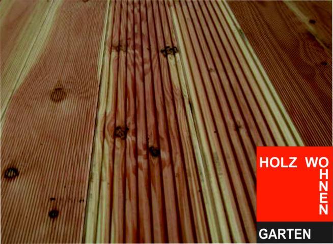 Hervorragend Europäische Lärche, sibirische Lärche oder Douglasie | Holz-Wohnen XK03
