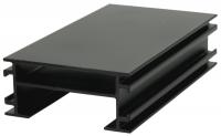 RELO Alu - UK, schwarz, 28x45 mm