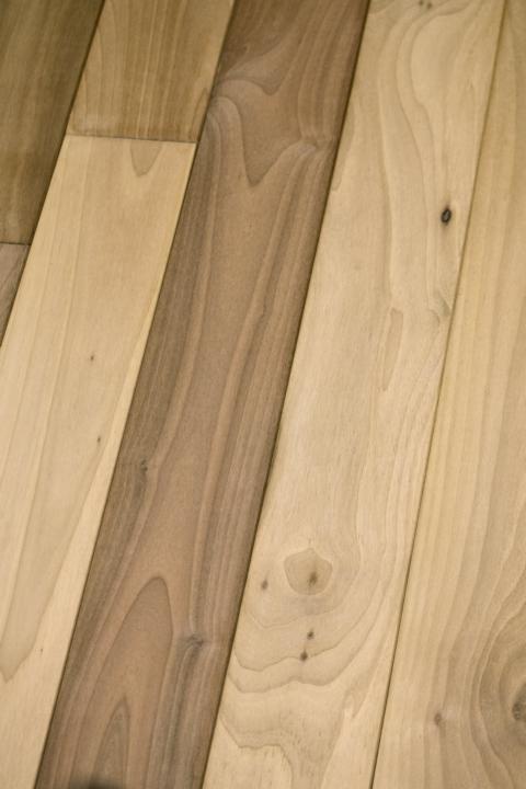 landhausdielen nussbaum europ isch eleganz rustikal futura floors holz wohnen. Black Bedroom Furniture Sets. Home Design Ideas