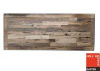 Eiche Tischplatte aus Altholz Industrial