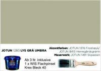 LYS GRÄ UMBRA | Jotun DEMIDEKK Ultimate Täckfärg | Holzfarbe