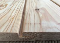 Lärche Holzfassade mit Wechselfalz A