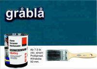 GRAUBLAU / Schwedenfarbe Öljefärg / Holzdeckfarbe