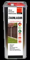 Zaun- & Holzlasur 5 ltr. Tabakbraun