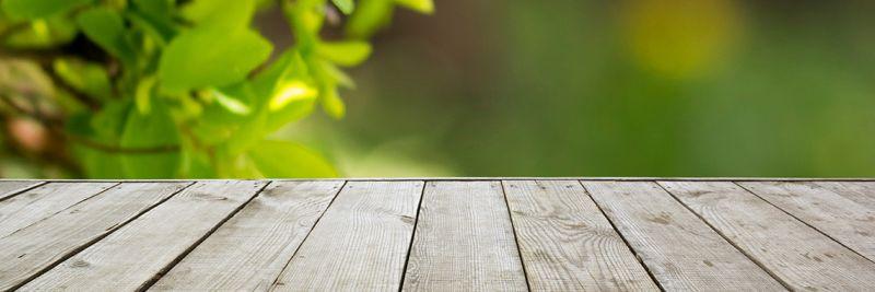Merveilleux Holz Für Wohnen Und Garten