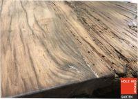Eiche Tischplatte aus Altholz - Vintage -