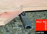 Isostep Alu Unterkonstruktion für Terrassen und Balkone