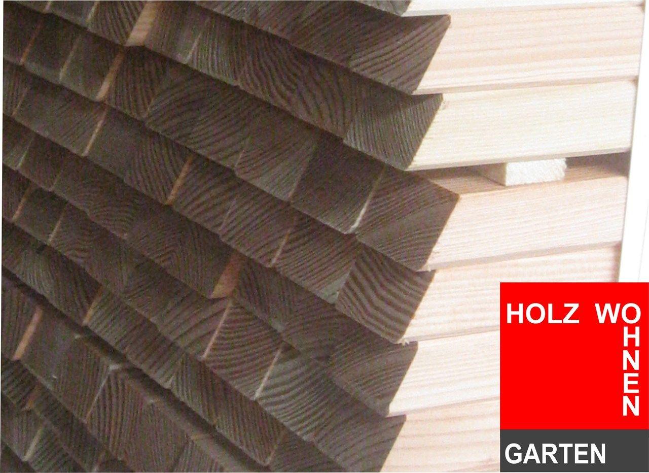 Zaunlatten Douglasie Lärche 25x50 mm günstig kaufen bei Holz