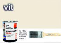 WEIß / Schwedenfarbe Öljefärg / Holzdeckfarbe