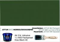 HERREGÄRDSGRØNN | Jotun DEMIDEKK Ultimate Täckfärg | Holzfarbe