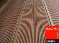 Terrassenholz Douglasie A-Sortierung; 28 x 145 mm;