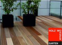 Terrassenholz Bangkirai Markant-Sortierung; 25 x 145 mm; A/B