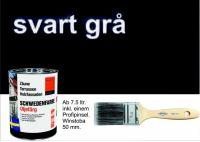 SCHWARZ-ANTHRAZIT / Schwedenfarbe Öljefärg / Holzdeckfarbe