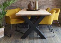Eiche Tischplatte, Naturkante