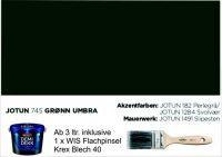 GRØN UMBRA | Jotun DEMIDEKK Ultimate Täckfärg | Holzfarbe